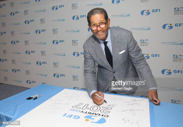 Bryant Gumbel attends Annual Charity Day hosted by Cantor Fitzgerald BGC and GFI at GFI Securities on September 11 2017 in New York City