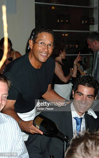 Bryant Gumbel during Celebrities Wait Tables To Benefit Project ALS at Sapa in New York City New York United States