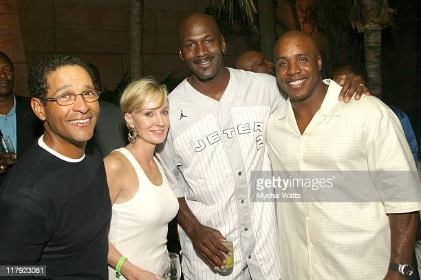 Bryant Gumbel Hilary Quinlan Michael Jordan and Barry Bonds