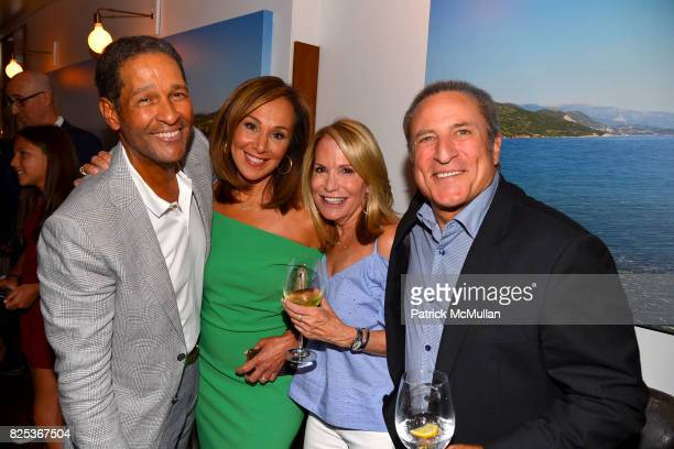 Bryant Gumbel Rosanna Scotto Amy Rosenblum and Daniel Berg attend Michael Gelman Celebrates The Launch Of CLASS MOM A Novel By Laurie Gelman at Loi...