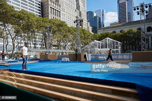 Bryant Park Holiday Shops and Winter Village Bank of America sponsor nears Annual opening October 29 2016 Free Ice Skating pop up Holiday Shops and...