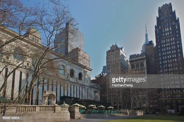 bryant park. - bryant park stock pictures, royalty-free photos & images