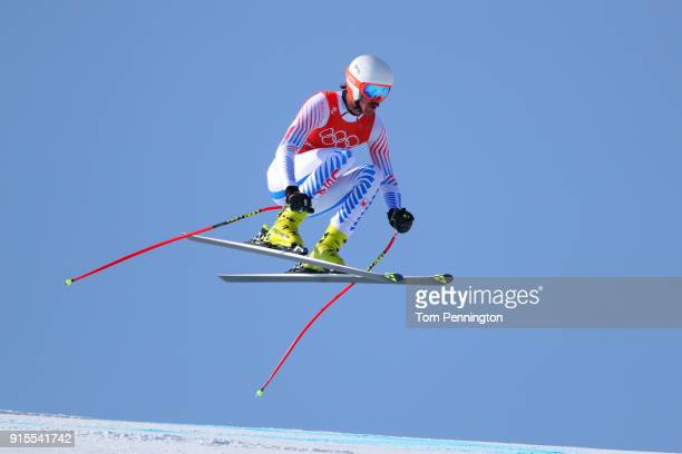 Alpine Skiing At The 2020 Olympic Winter Games.World S Best Alpine Skiing Winter Olympics Day 2 Stock