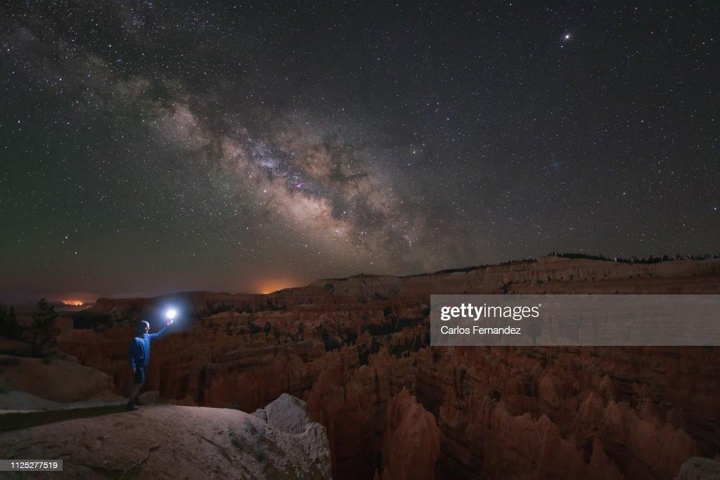 Bryce Canyon Milky Way : Stock Photo