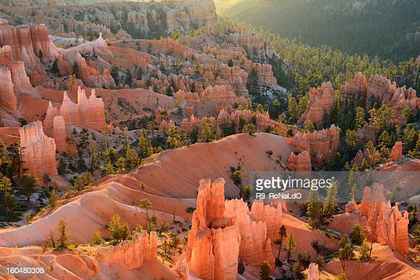 ブライスキャニオン国立公園ユタ州で日の出