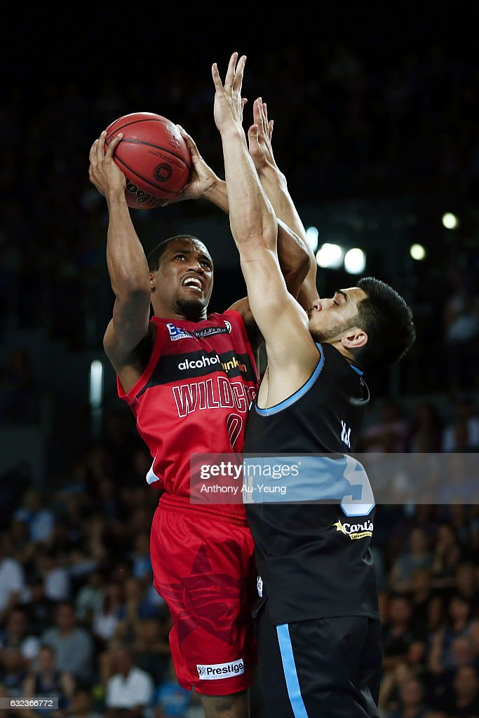 NBL Rd 16 - New Zealand v Perth