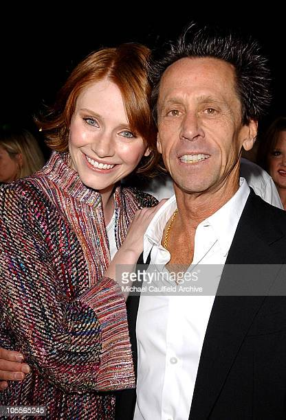 """Bryce Dallas Howard and Brian Grazer during """"Friday Night Lights"""" Los Angeles Premiere - Red Carpet at Grauman's Chinese Theatre in Los Angeles,..."""