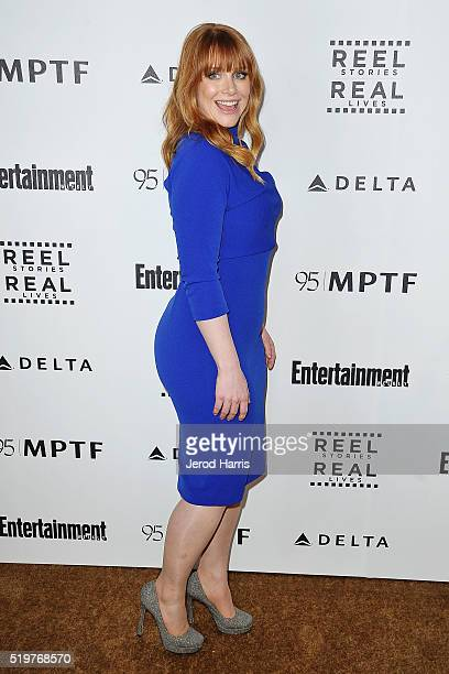 Bryce Dallas Howard arrives at the 5th Annual Reel Stories Real Lives Benefiting MPTF at Milk Studios on April 7 2016 in Los Angeles California