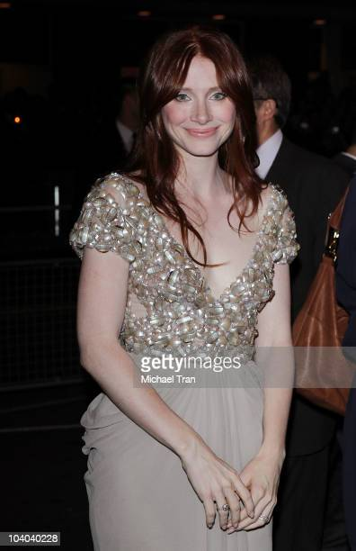 Bryce Dallas Howard arrives at the Hereafter premiere during the 2010 Toronto International Film Festival held at The Elgin on September 12 2010 in...