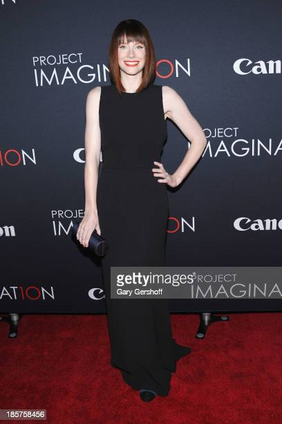 Bryce Dallas Howard attends Canon's 'Project Imaginat10n' Film Festival opening night at Alice Tully Hall at Lincoln Center on October 24 2013 in New...