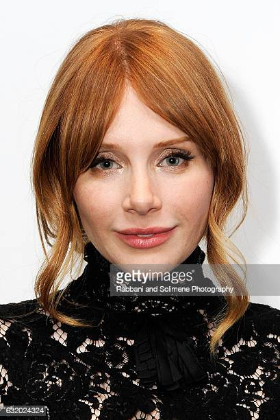 Bryce Dallas Howard attends SAGAFTRA Foundation Black Mirror New York Screening And QA at SAGAFTRA Foundation Robin Williams Center on January 18...