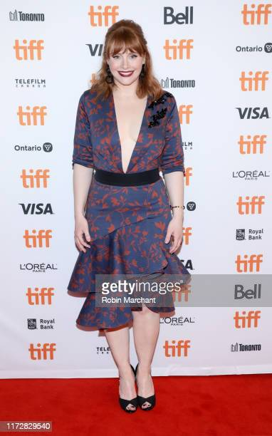 Bryce Dallas Howard attends the Dads premiere during the 2019 Toronto International Film Festival at The Elgin on September 06 2019 in Toronto Canada