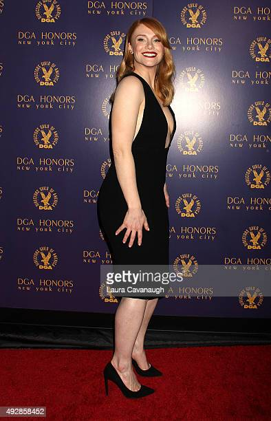 Bryce Dallas Howard attends the DGA Honors Gala 2015 on October 15 2015 in New York City