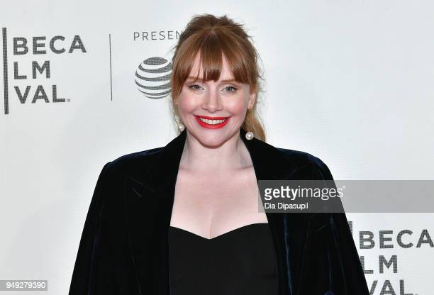 Bryce Dallas Howard attends the Genius Picasso premiere during the 2018 Tribeca Film Festival at BMCC Tribeca PAC on April 20 2018 in New York City