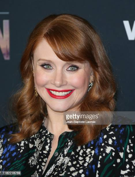 Bryce Dallas Howard attends the premiere of Disney's The Mandalorian at the El Capitan Theatre on November 13 2019 in Los Angeles California