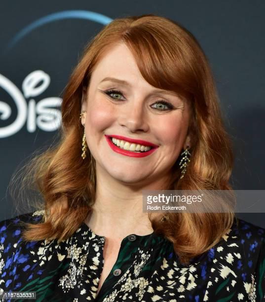 Bryce Dallas Howard attends the Premiere of Disney's The Mandalorian at El Capitan Theatre on November 13 2019 in Los Angeles California