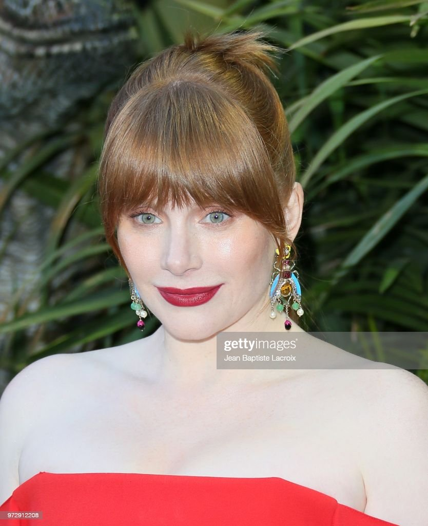 Bryce Dallas Howard attends the premiere of Universal Pictures and Amblin Entertainment's 'Jurassic World: Fallen Kingdom' on June 12, 2018 in Los Angeles, California.