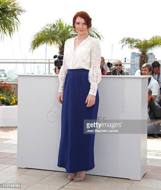 """Bryce Dallas Howard attends the """"Restless"""" Photocall during the 64th Cannes Film Festival at Palais des Festivals on May 13, 2011 in Cannes, France."""
