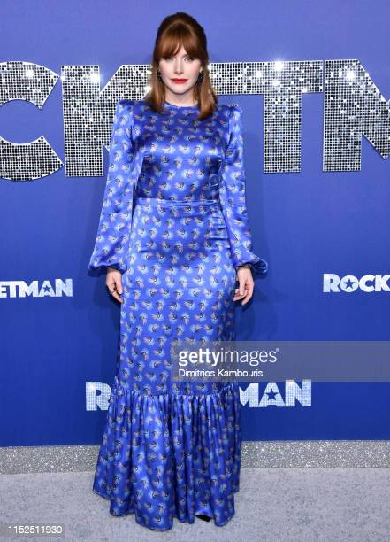 Bryce Dallas Howard attends the Rocketman New York Premiere at Alice Tully Hall on May 29 2019 in New York City