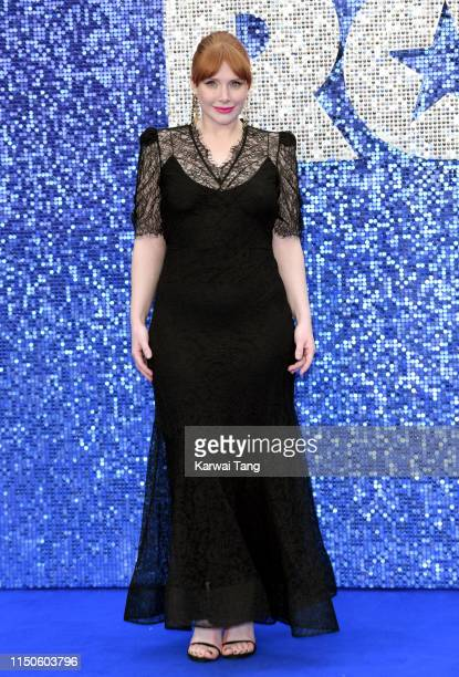 Bryce Dallas Howard attends the Rocketman UK premiere at Odeon Luxe Leicester Square on May 20 2019 in London England