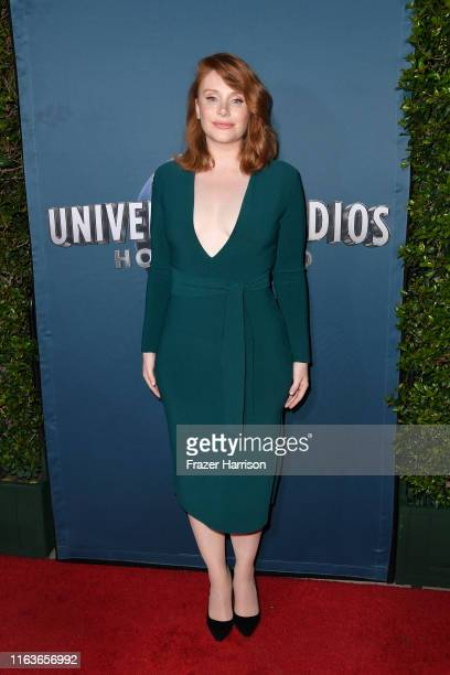 """Bryce Dallas Howard attends the Universal Studios Hollywood's """"Jurassic World-The Ride"""" Grand Opening Celebration at Universal Studios Hollywood on..."""