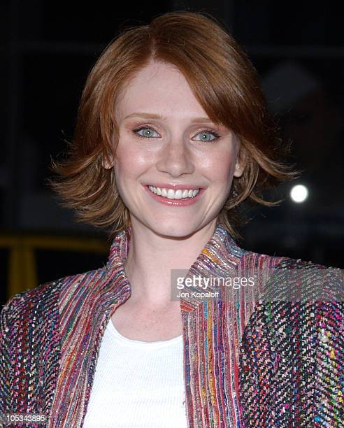"""Bryce Dallas Howard during """"Friday Night Lights"""" - World Premiere at Grauman's Chinese Theatre in Hollywood, California, United States."""