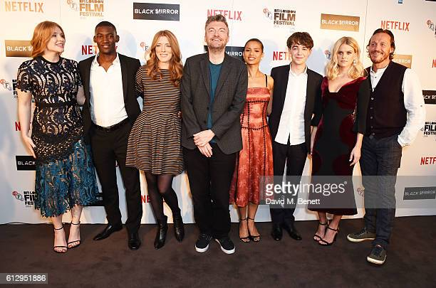Bryce Dallas Howard Malachi Kirby Annabel Jones Charlie Brooker Gugu MbathaRaw Alex Lawther Alice Eve and Jerome Flynn attend the LFF Connects...