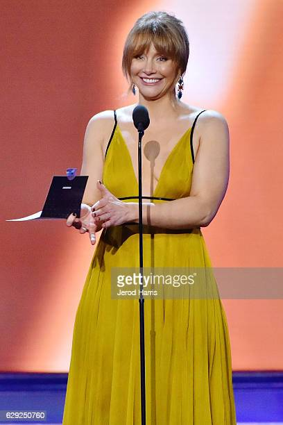 Bryce Dallas Howard speaks onstage during the 22nd Annual Critics' Choice Awards at Barker Hangar on December 11 2016 in Santa Monica California