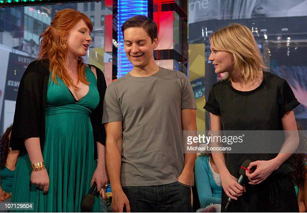 Bryce Dallas Howard Tobey Maguire and Kirsten Dunst