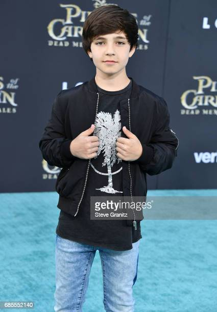 Bryce Gheisar arrives at the Premiere Of Disney's Pirates Of The Caribbean Dead Men Tell No Tales at Dolby Theatre on May 18 2017 in Hollywood...