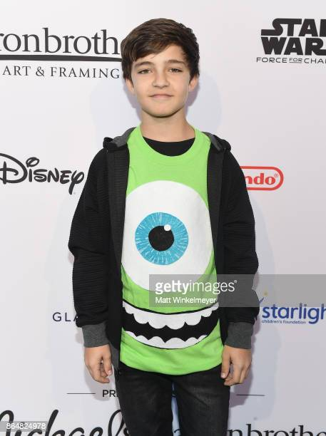 Bryce Gheisar at the Dream Halloween 2017 Costume Party Benefitting Starlight Children's Foundation presented by Michaels and Aaron Brothers at The...