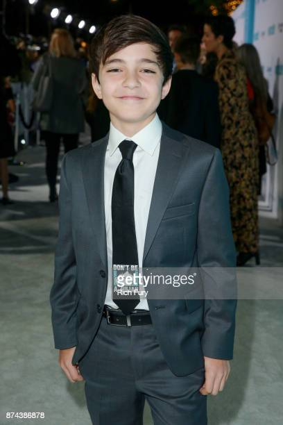 Bryce Gheisar attends the premiere of Lionsgate's Wonder at Regency Village Theatre on November 14 2017 in Westwood California