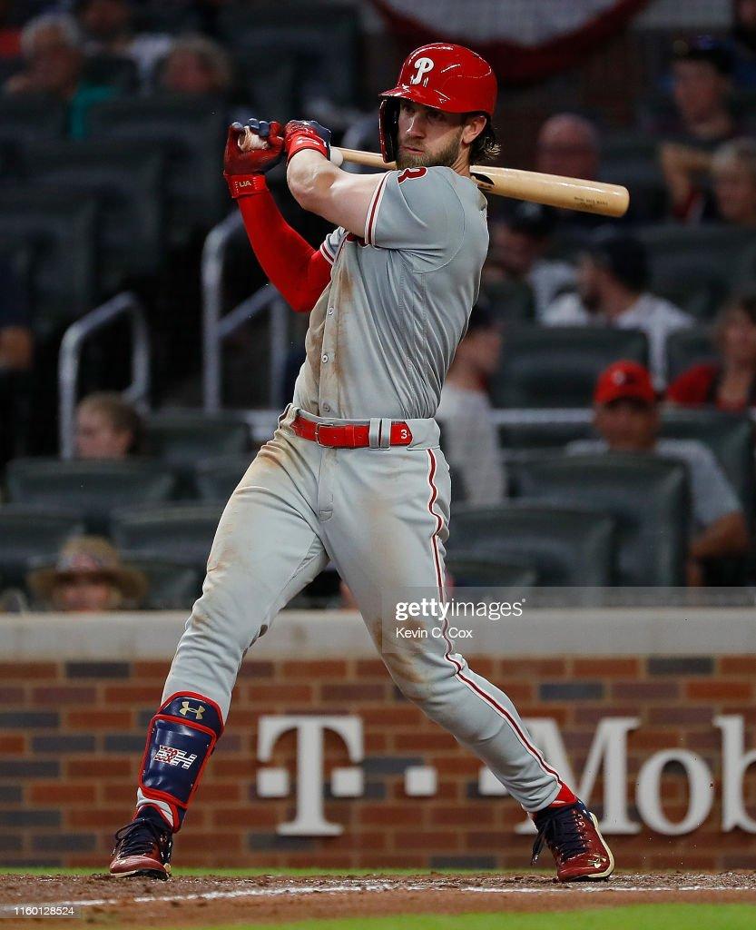 Philadelphia Phillies v Atlanta Braves : News Photo