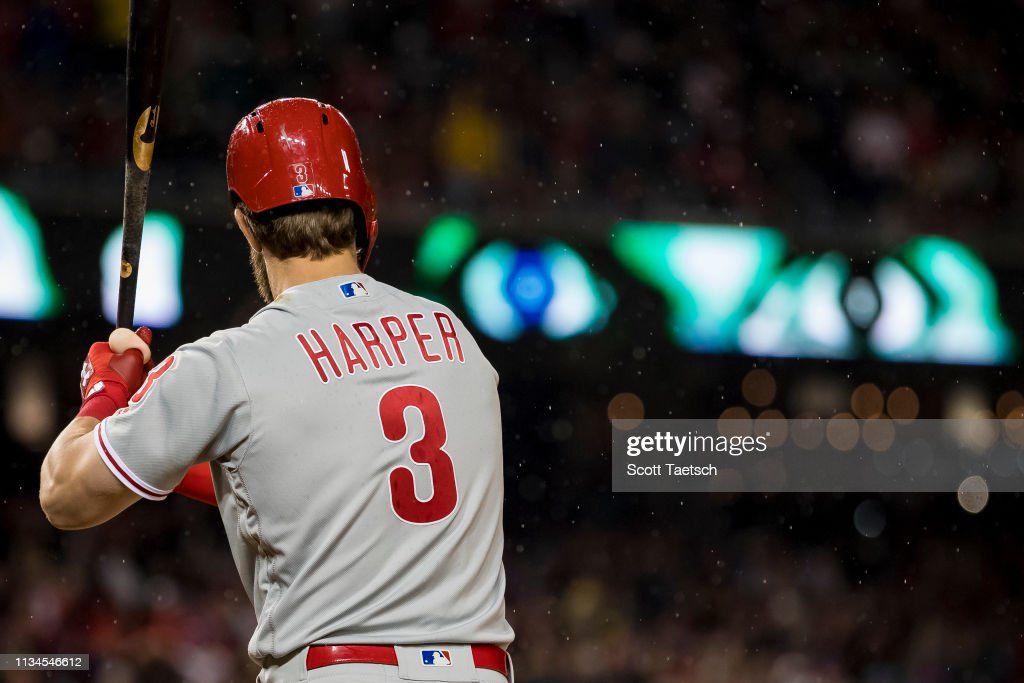 Philadelphia Phillies v Washington Nationals : Fotografía de noticias