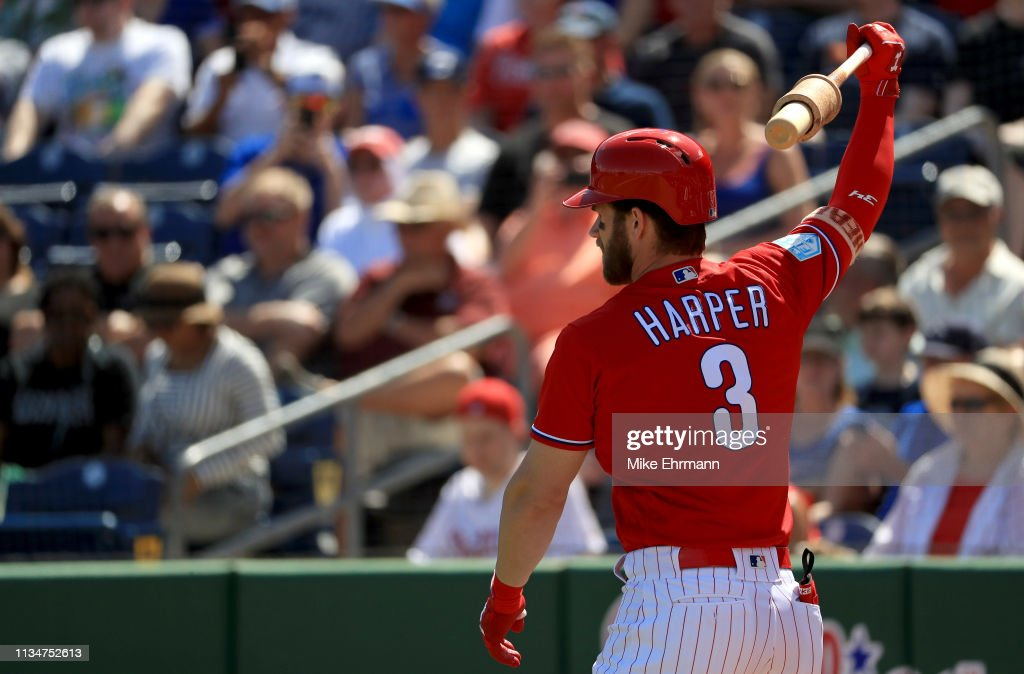 Toronto Blue Jays v Philadelphia Phillies : Fotografía de noticias