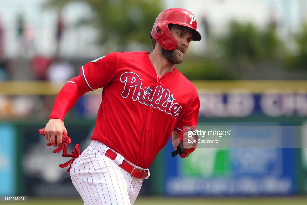 MLB: MAR 25 Spring Training - Rays at Phillies : News Photo