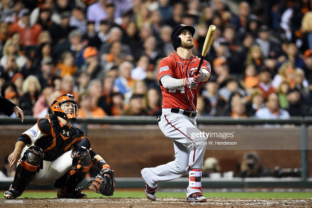 Division Series - Washington Nationals v San Francisco Giants - Game Four : ニュース写真