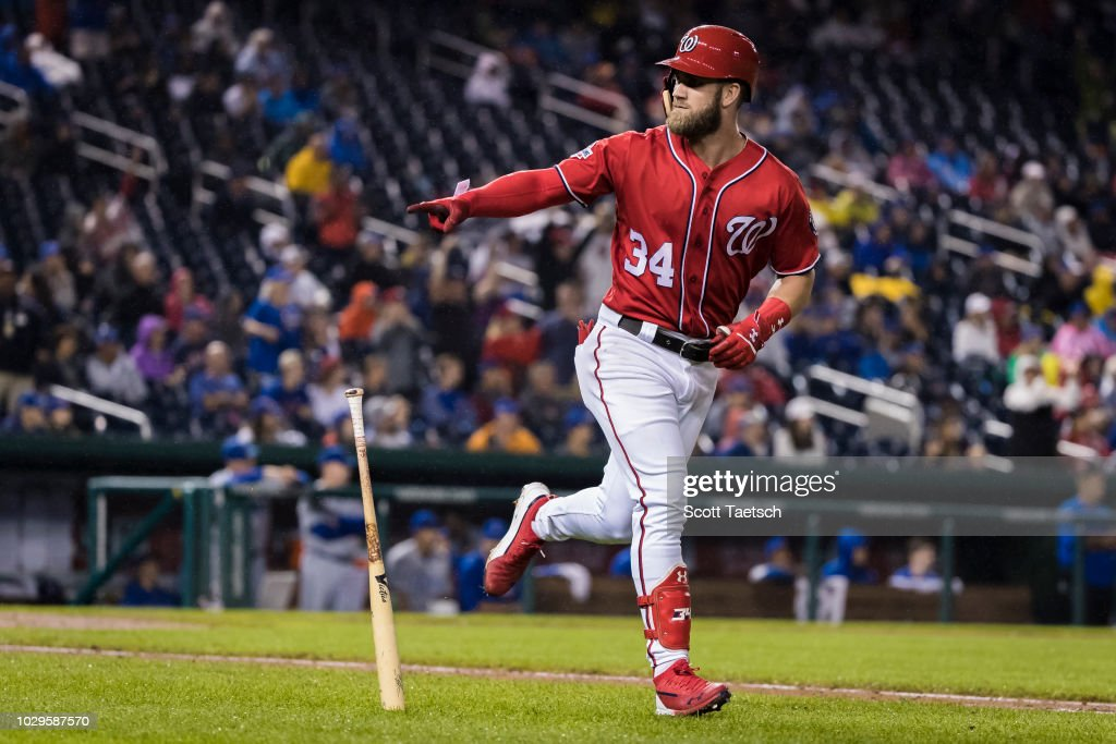 Chicago Cubs v Washington Nationals - Game Two : News Photo