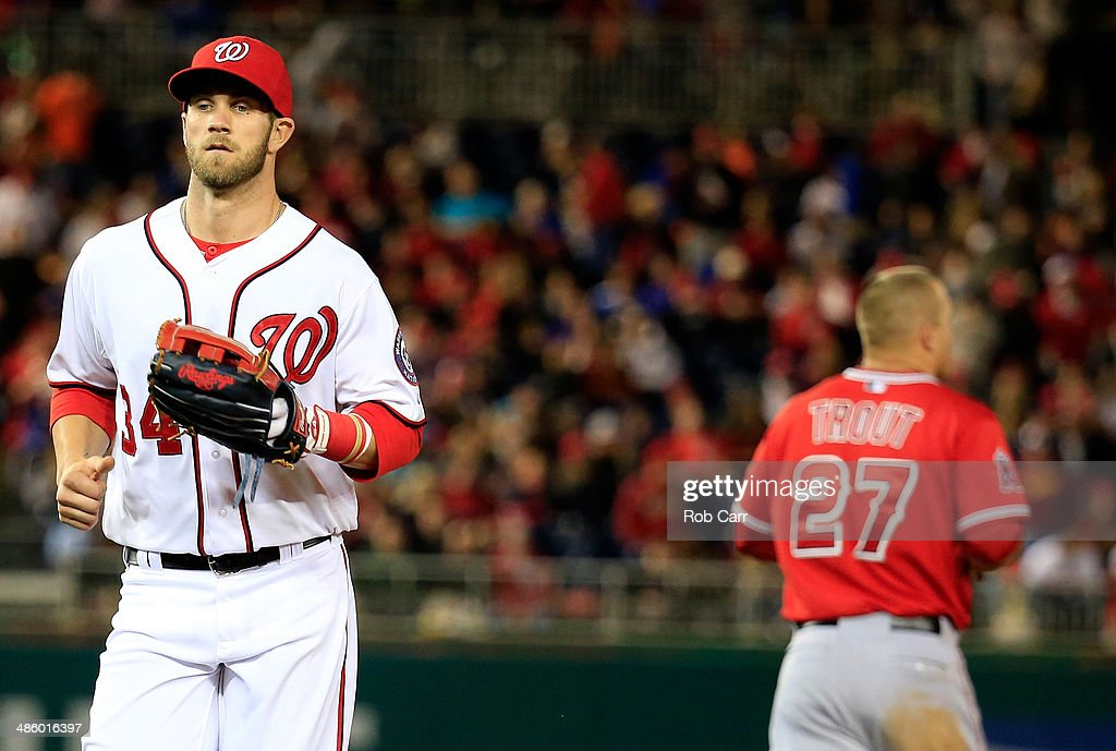 Los Angeles Angels of Anaheim v Washington Nationals : News Photo