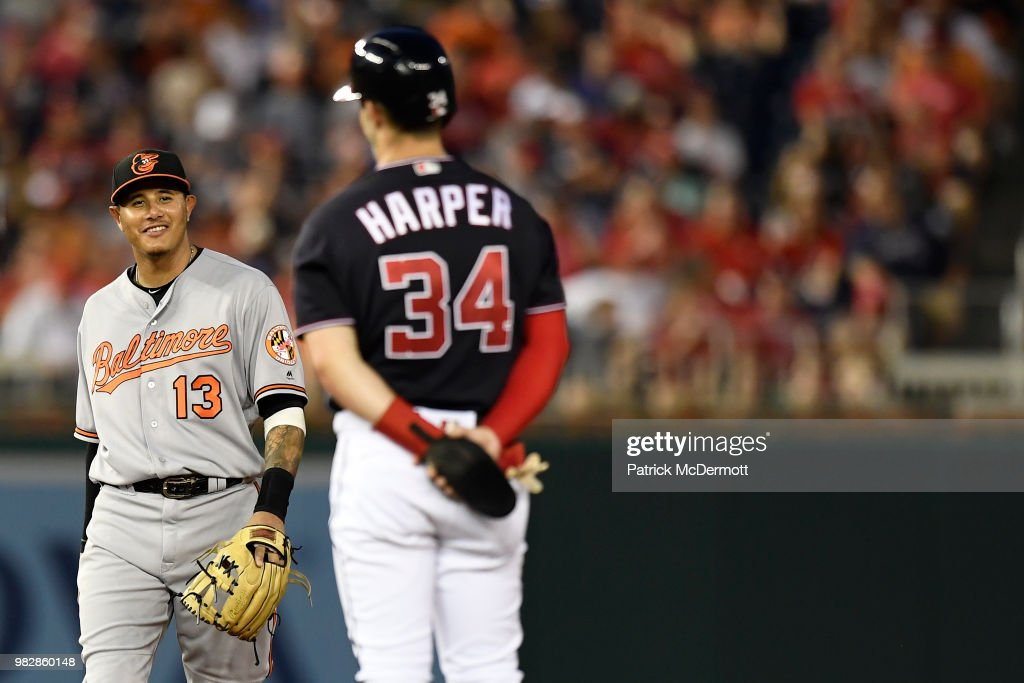 Baltimore Orioles v Washington Nationals : News Photo