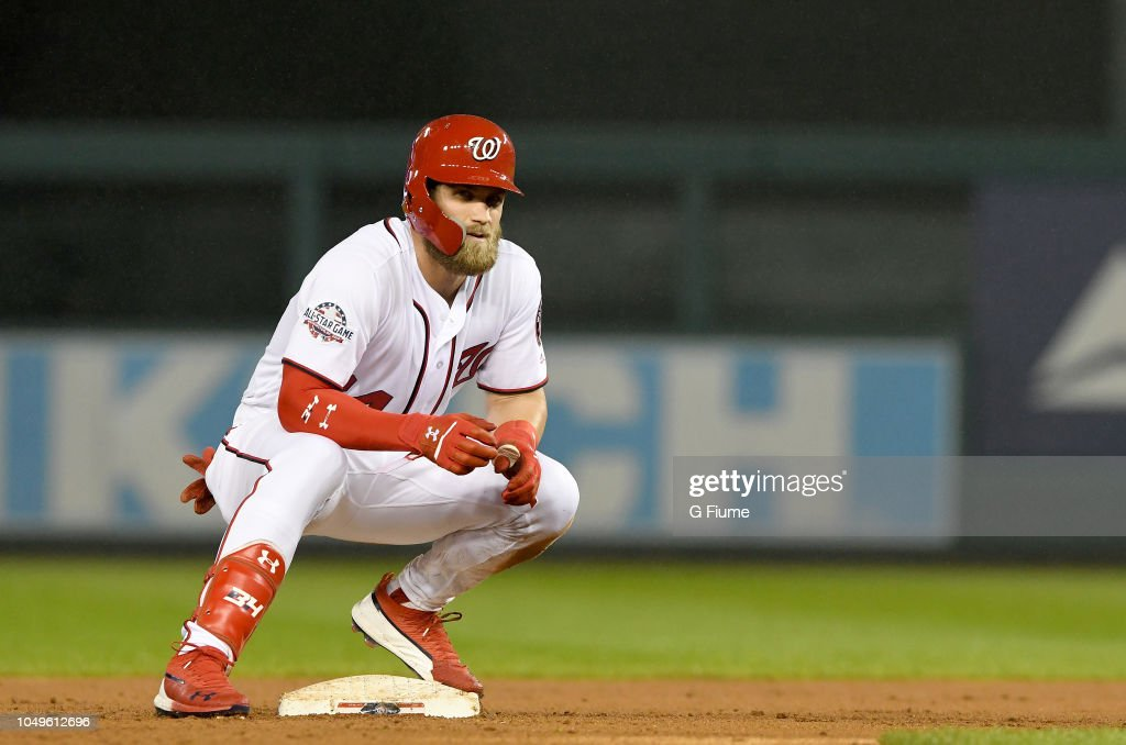 Miami Marlins v Washington Nationals : News Photo