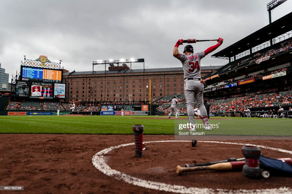 Washington Nationals v Baltimore Orioles : News Photo
