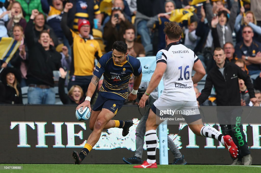 Worcester Warriors v Bristol Bears - Gallagher Premiership Rugby : News Photo