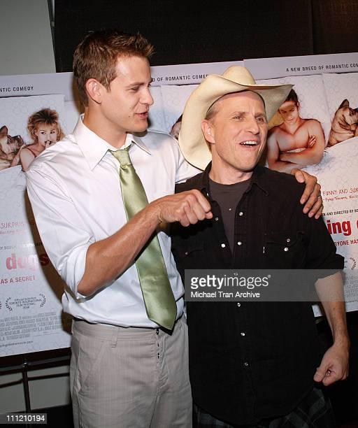 Bryce Johnson and Bobcat Goldthwait writer/director