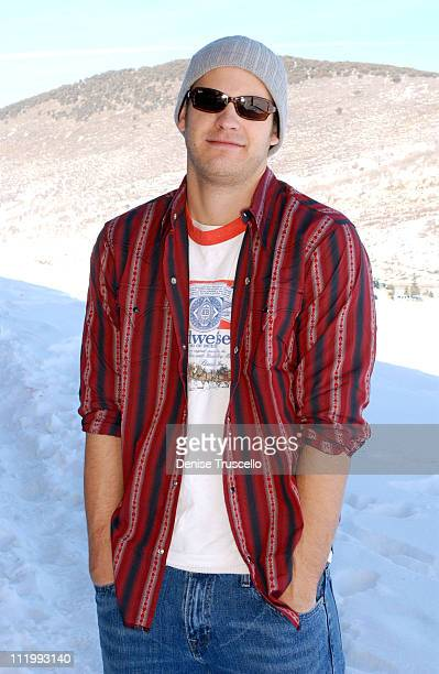 Bryce Johnson during 2004 Park City Levi's House at Levi's House in Park City Utah United States