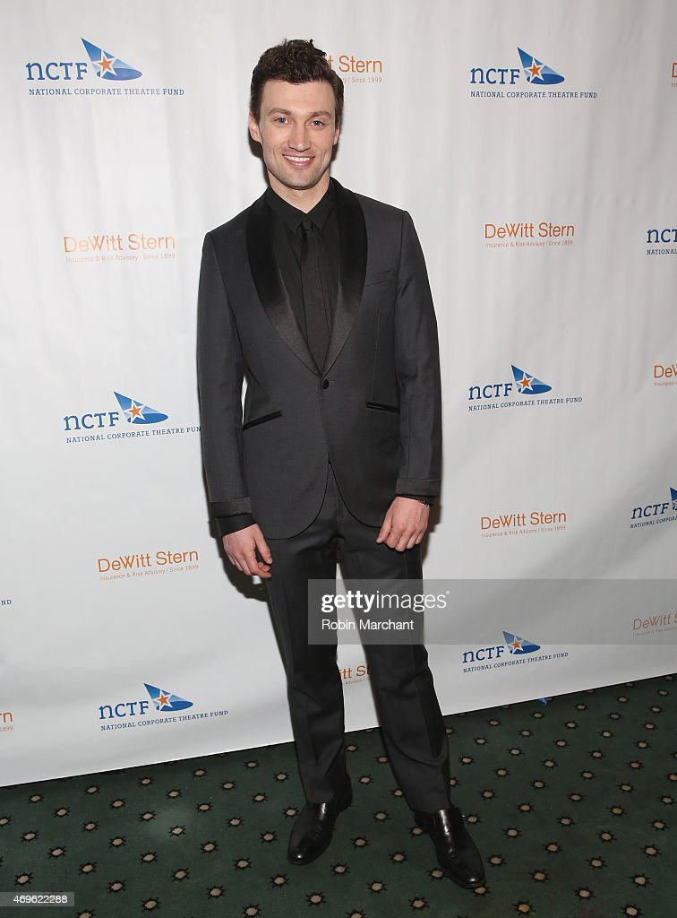 Bryce Pinkham attends National Corporate Theatre Fund's 2015 Chairman's Awards Gala at The Pierre Hotel on April 13, 2015 in New York City.