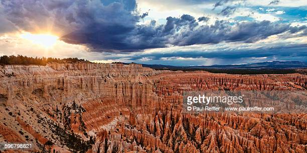 Bryce Point At Sunset