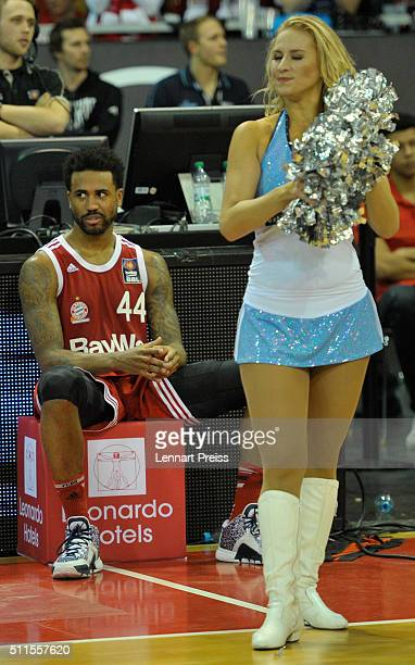 Bryce Taylor of FC Bayern Muenchen looks on after losing the Beko BBL TOP FOUR Final match between FC Bayern Muenchen and ALBA Berlin at AudiDome on...