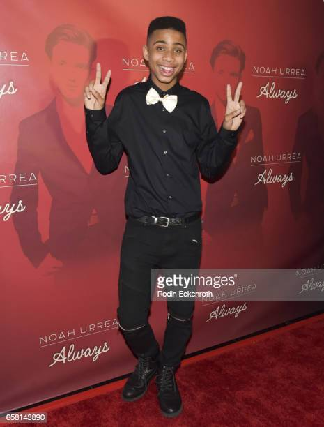 Bryce Xavier attends Noah Urrea's 16th Birthday with EP Release Party at Avalon Hollywood on March 26 2017 in Los Angeles California