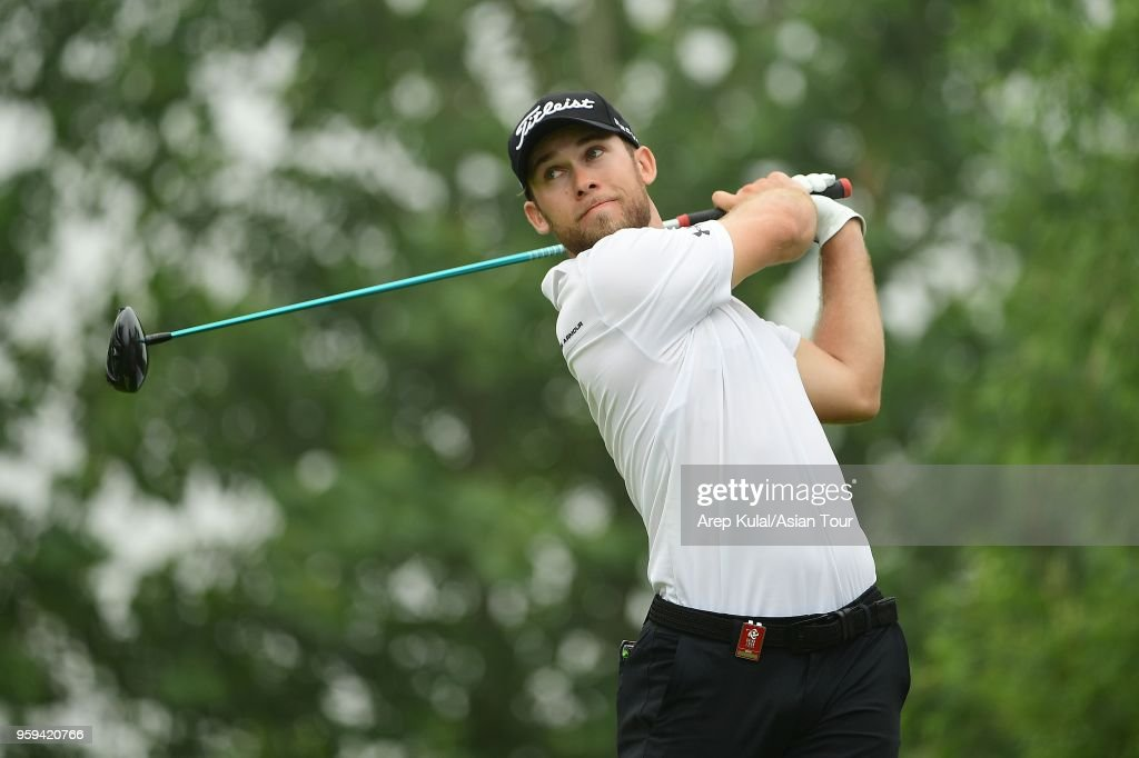 Bryden Macpherson of Australia pictured during round one of the 2018 Asia Pacific Classic at St. Andrews (Zhengzhou) Golf Club on May 17, 2018 in Zhengzhou, Henan, China.